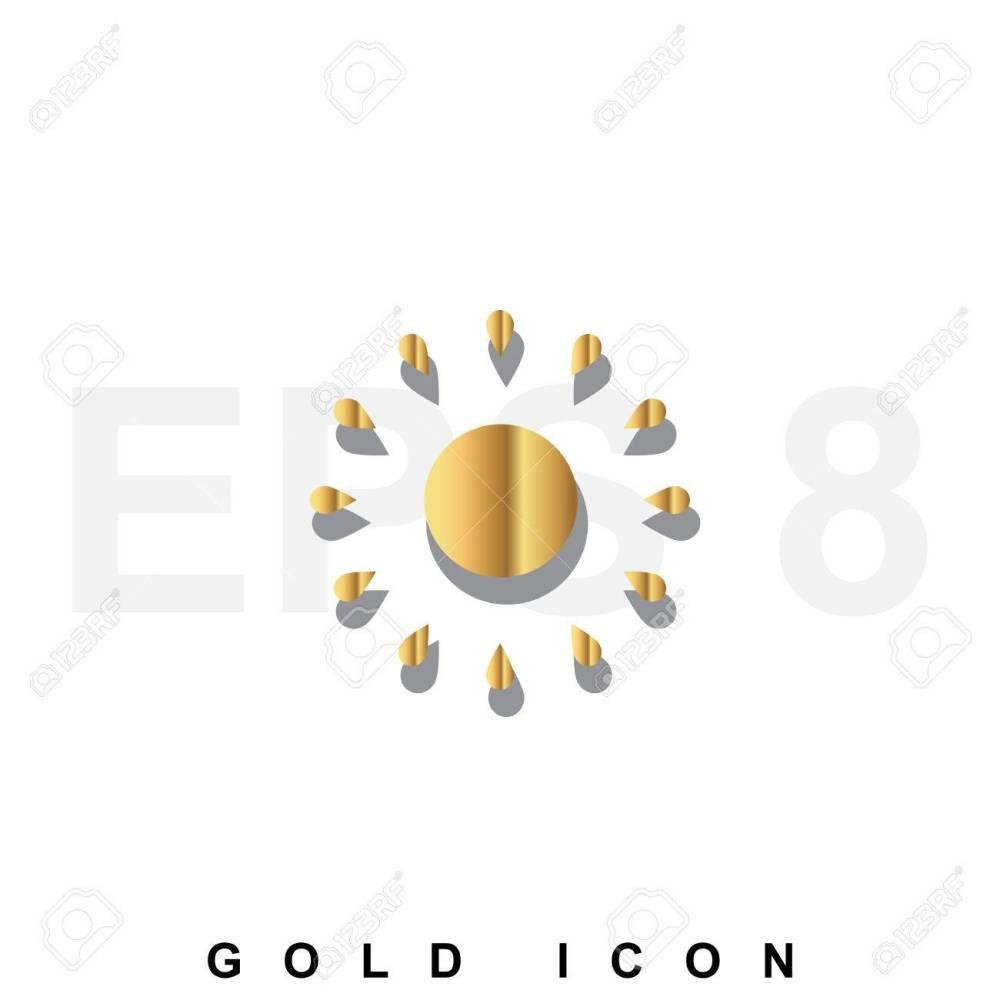 medium resolution of foto de archivo golden icono prima de sun gr fico elemento de dise o web o plantilla vector s mbolo de lujo real para los negocios internet