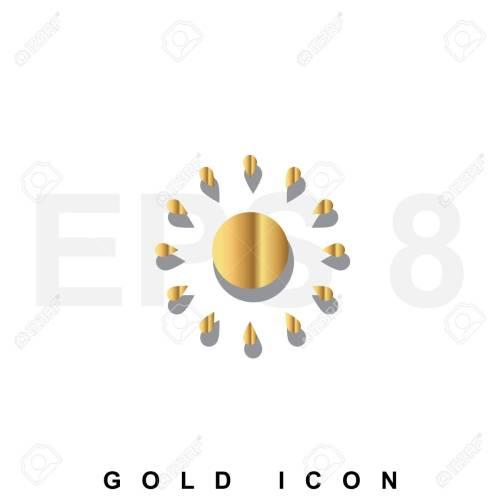small resolution of foto de archivo golden icono prima de sun gr fico elemento de dise o web o plantilla vector s mbolo de lujo real para los negocios internet