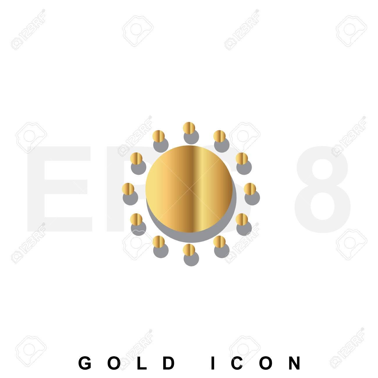 hight resolution of foto de archivo golden icono prima de sun plantilla de elemento de dise o gr fico web vector s mbolo de lujo real para los negocios internet
