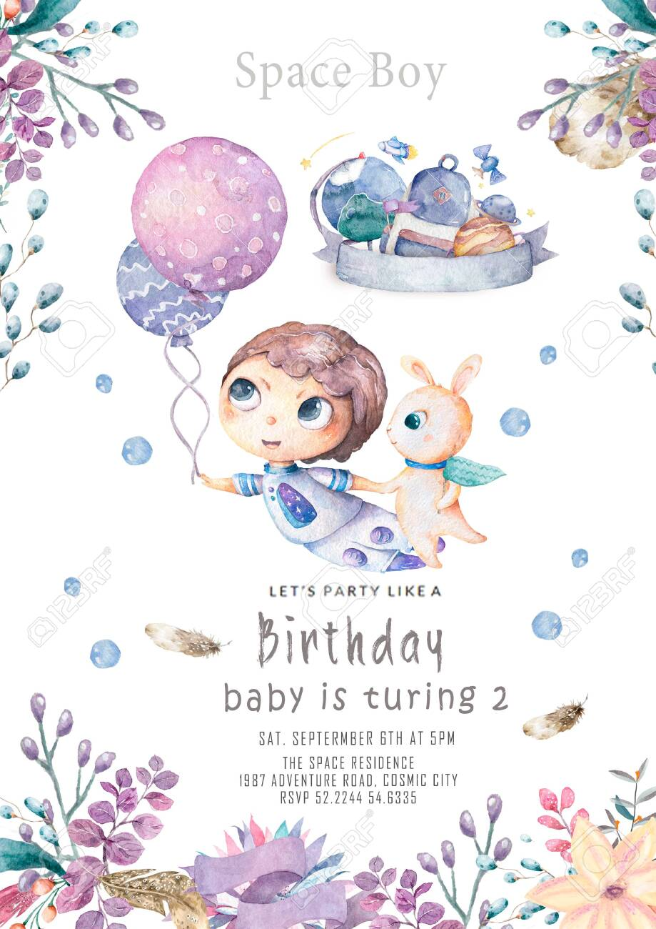 Baby Shower Greeting Card Images : shower, greeting, images, Shower, Greeting, Cartoon, Babies, Stock, Photo,, Picture, Royalty, Image., Image, 141048125.