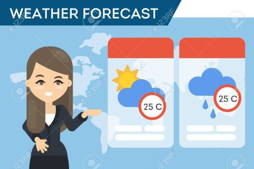 small resolution of tv weather forecast stock vector 87399892