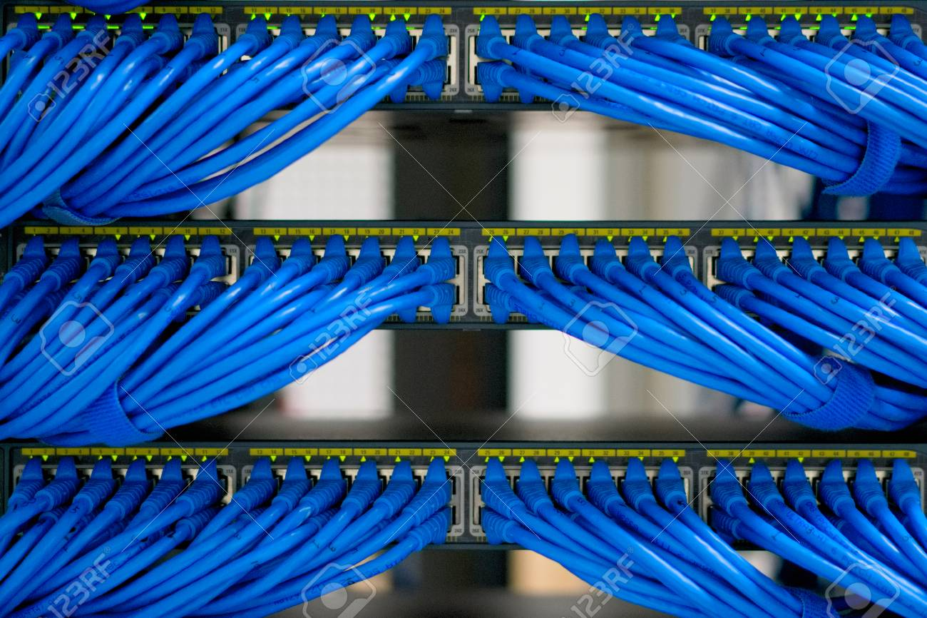 hight resolution of lan cable wiring and networking in the network or server rack server rack wiring ladder rooms