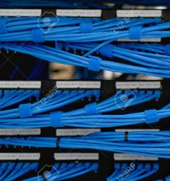 lan cable wiring and networking in the network or server rack server rack wiring labeling server rack wiring [ 1300 x 866 Pixel ]