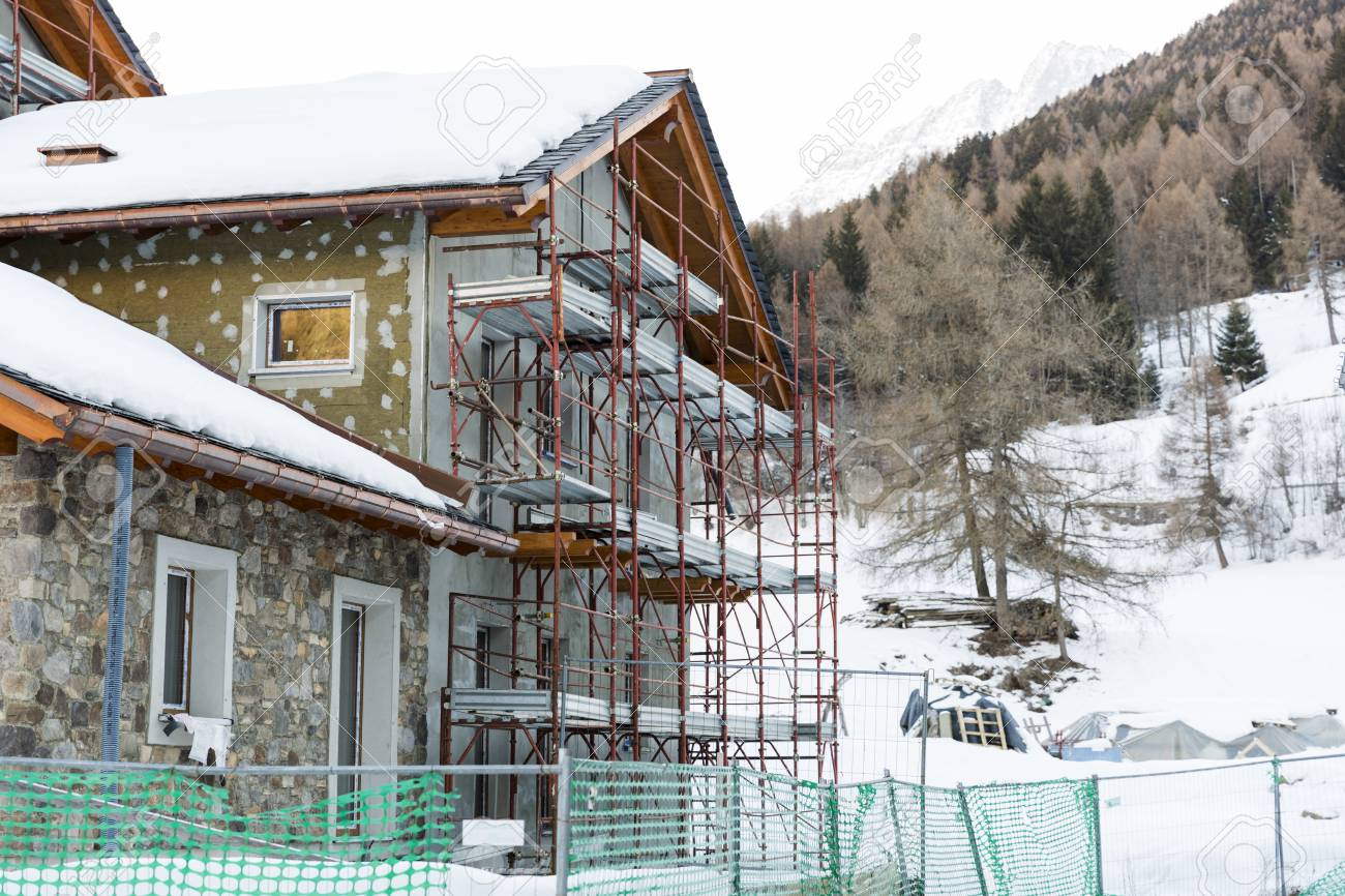 Construction Of Hotel Or Tourist Apartment At Ski Resort In Italy