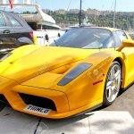 Monte Carlo Monaco 02 De Agosto 2014 Superdeportivo Amarillo Enzo Ferrari En La Calle De La Ciudad Fotos Retratos Imagenes Y Fotografia De Archivo Libres De Derecho Image 37796103
