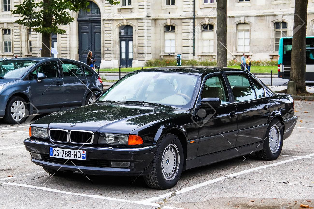 hight resolution of paris france august 8 2014 motor car bmw e38 7 series