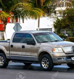 campeche mexico may 20 2017 pickup truck lincoln mark lt in the [ 1300 x 866 Pixel ]