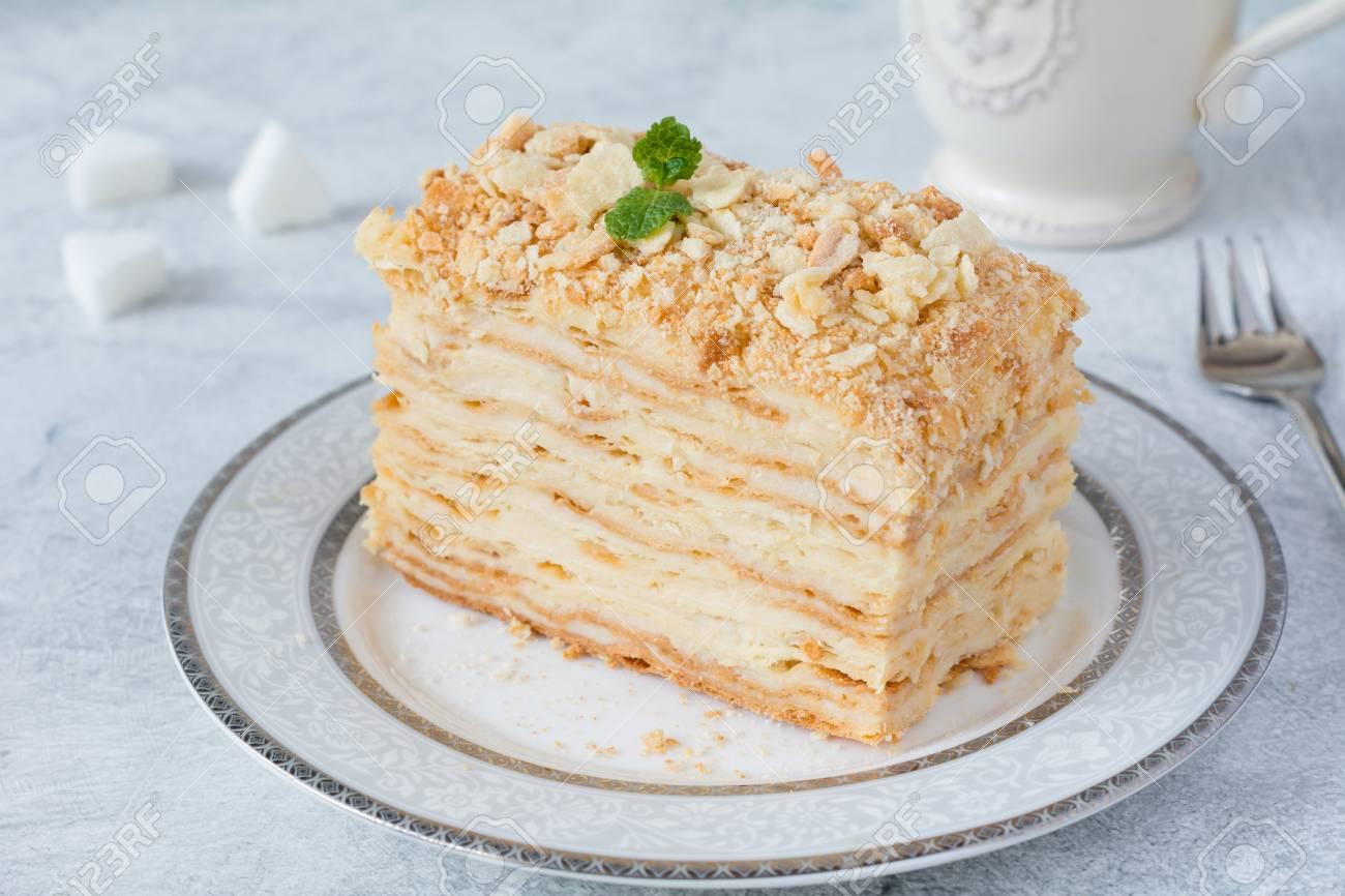Russische Kuche Rezept Russische Napoleon Torte Selber Backen
