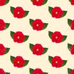 Camellia Flower Pattern Royalty Free Cliparts Vectors And Stock Illustration Image 88096463