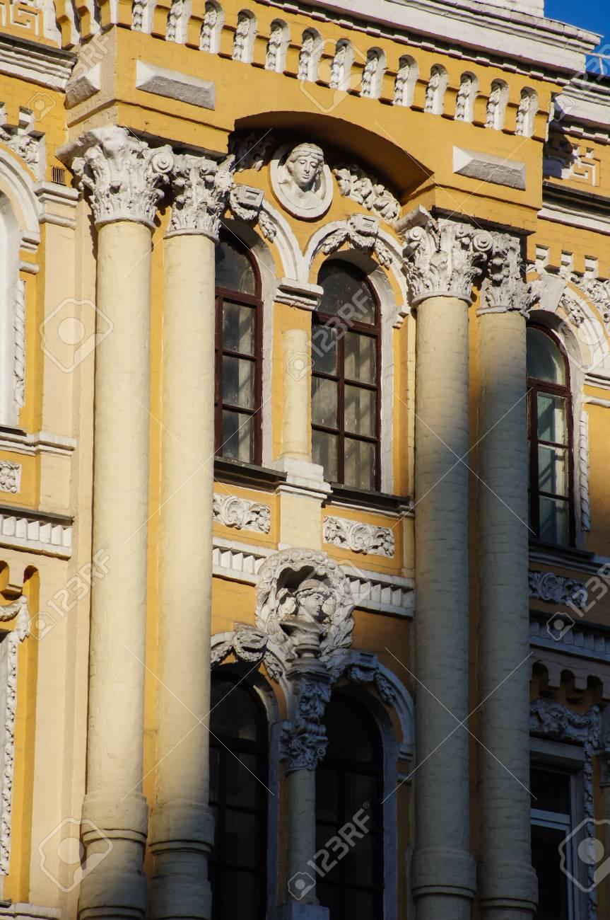 l architecture de la fin du 19eme siecle et beggining du 20 centure dans le style art nouveau a kiev ukraine banque d images et photos libres de droits image 41339112