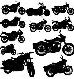 motorcycle classic vector [ 1300 x 1300 Pixel ]