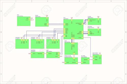 small resolution of real electronic embedded system concept block diagram stock photo 52671445