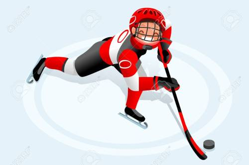 small resolution of ice hockey vector cartoon clipart winter sports background with hockey athlete playing winter olympics competition