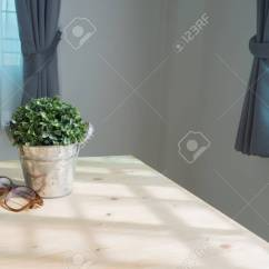Artificial Trees For Living Room Elegant Sets Wood Table With Small Tree On Pot And Eyeglasses At Stock Photo View From Top
