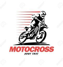 motocross stylized vector symbol design elements for logo template [ 1300 x 1300 Pixel ]