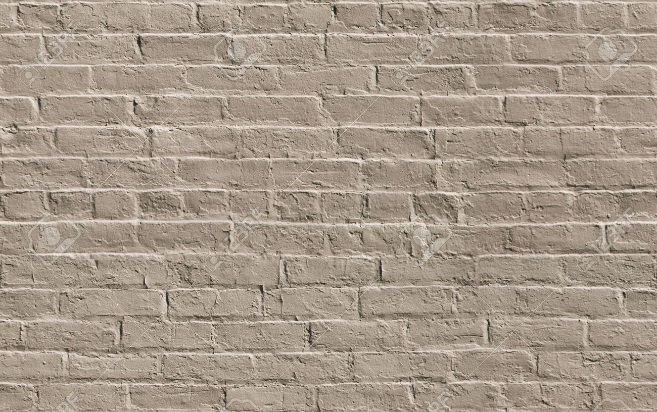 beige painted brick wall
