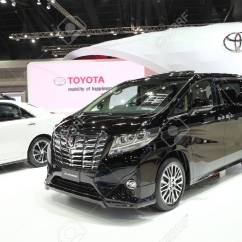All New Alphard Modifikasi Grand Avanza Putih Bangkok March 25 Toyota Car On Display At Stock The 36 Th