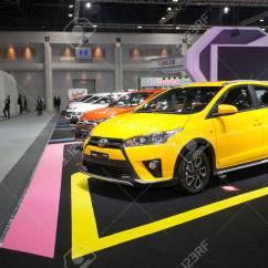 New Yaris Trd Sportivo Kelebihan Dan Kekurangan Grand Avanza 2016 Bangkok November 30 Toyota Car On Display At Motor Expo
