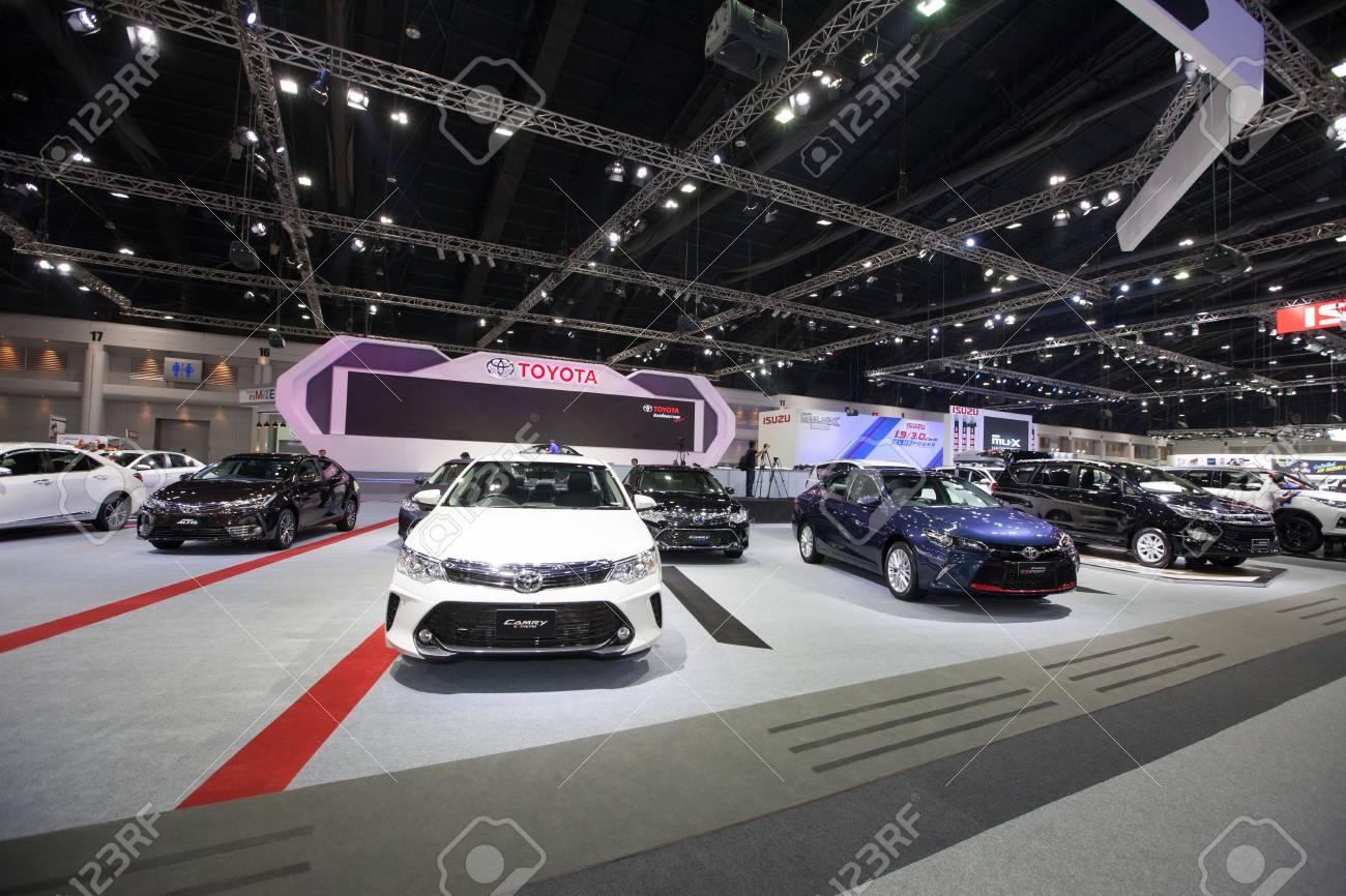 new yaris trd sportivo harga grand veloz 1.5 a/t bangkok november 30 toyota car on display at motor expo 2016
