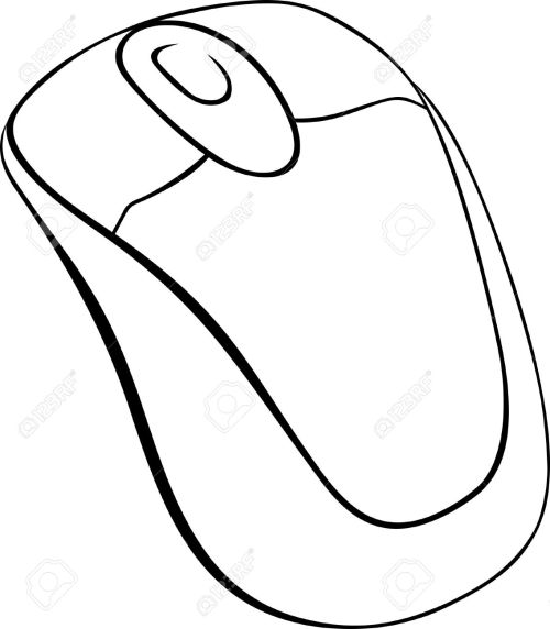 small resolution of computer mouse on white background royalty free cliparts vectors computer mouse diagram