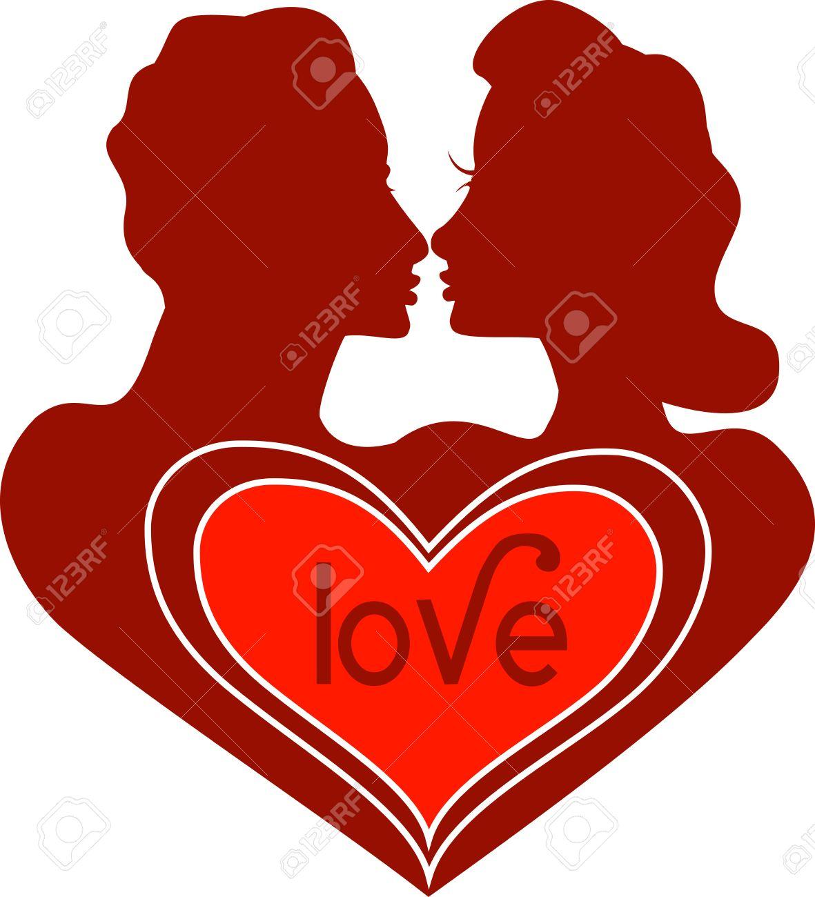 vector valentine icon love