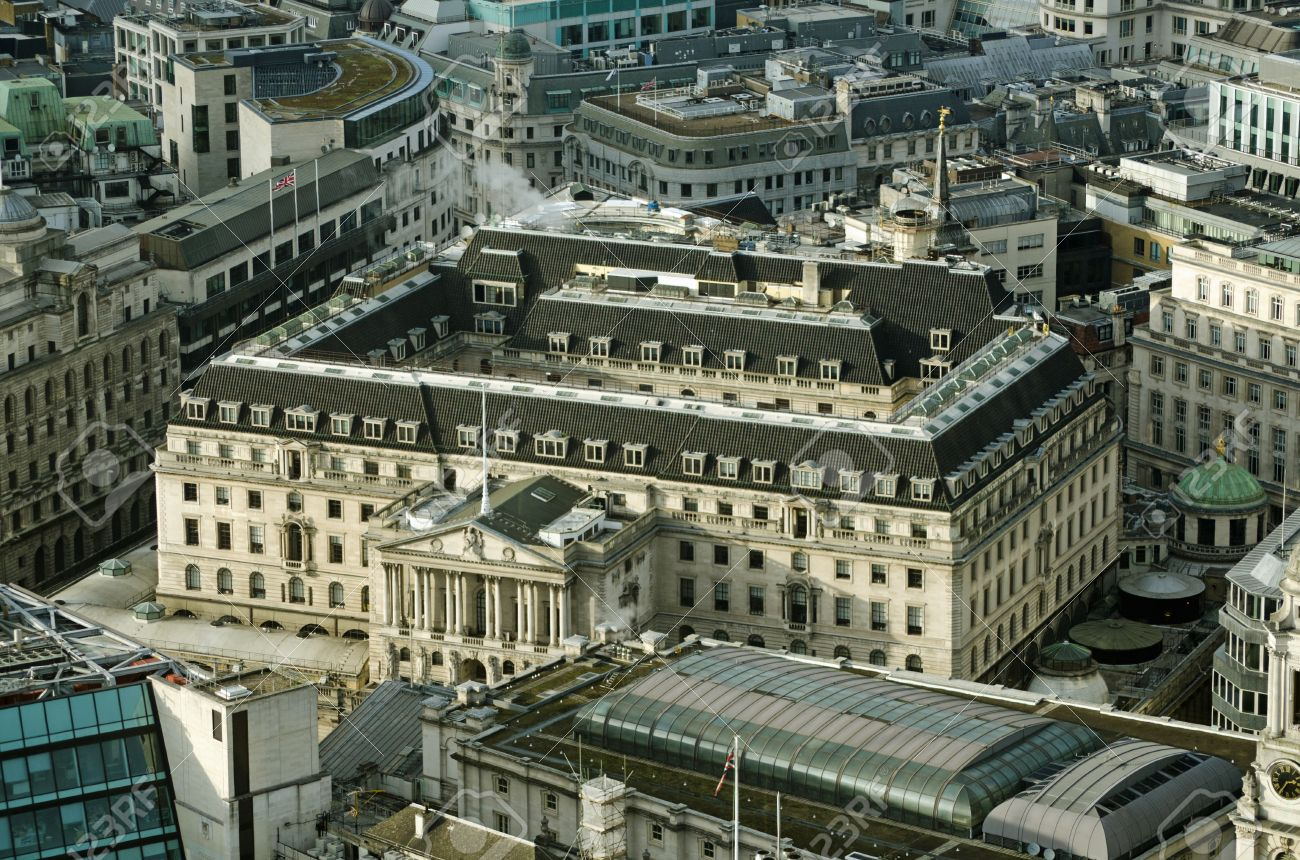 Image result for Bank of England view from above
