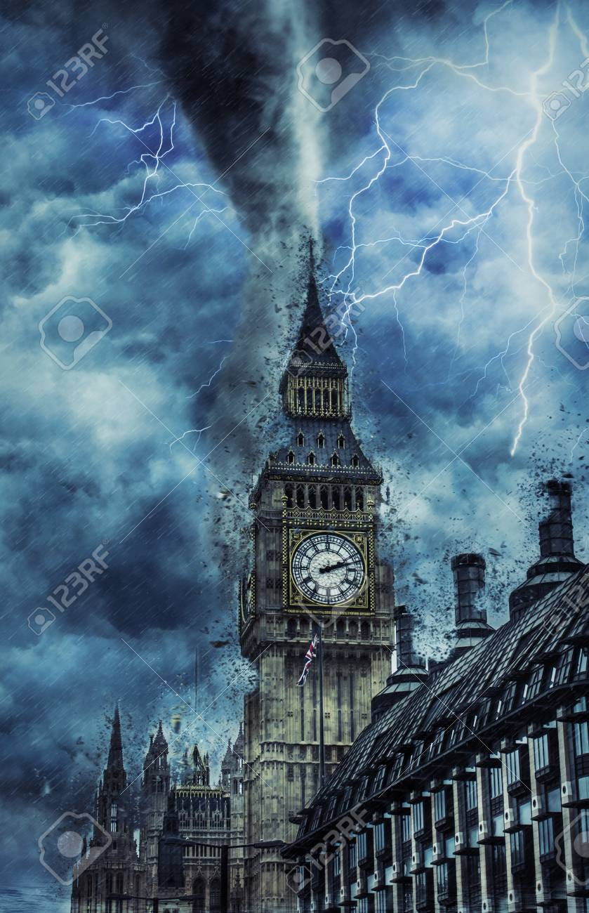 London Tornado : london, tornado, Tornado, Westminster, Abbey, Dramatic, Weather, City,, Tornado.., Stock, Photo,, Picture, Royalty, Image., Image, 114734941.