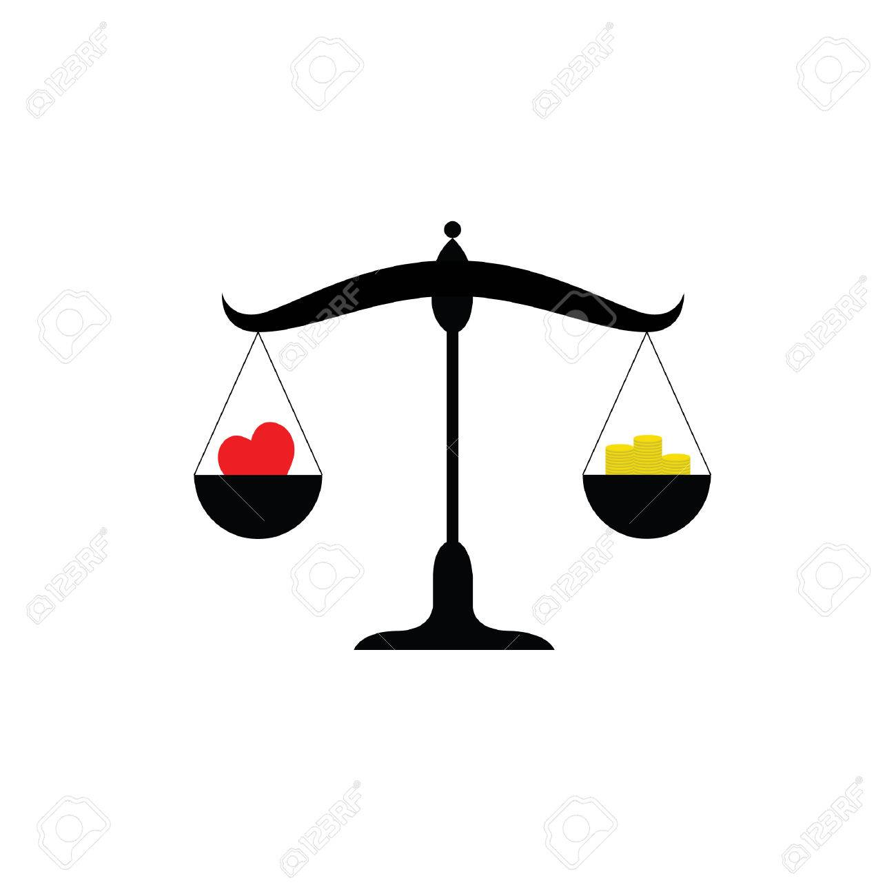 balance scale or balance