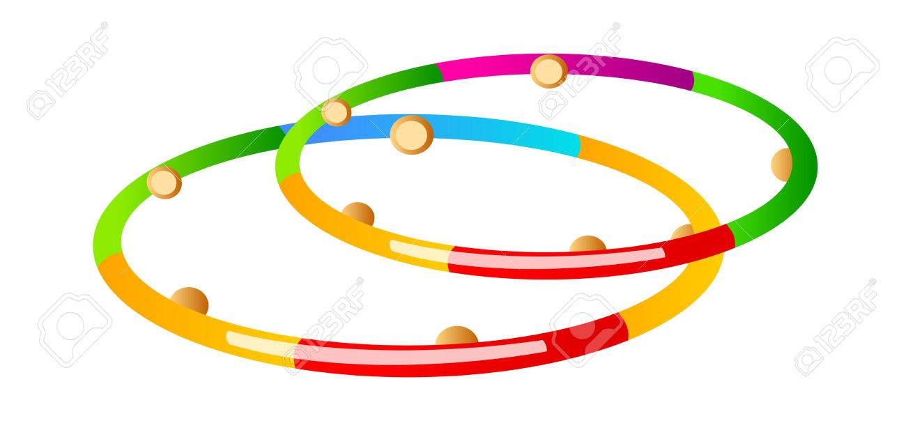 hight resolution of vector vector icon hula hoop