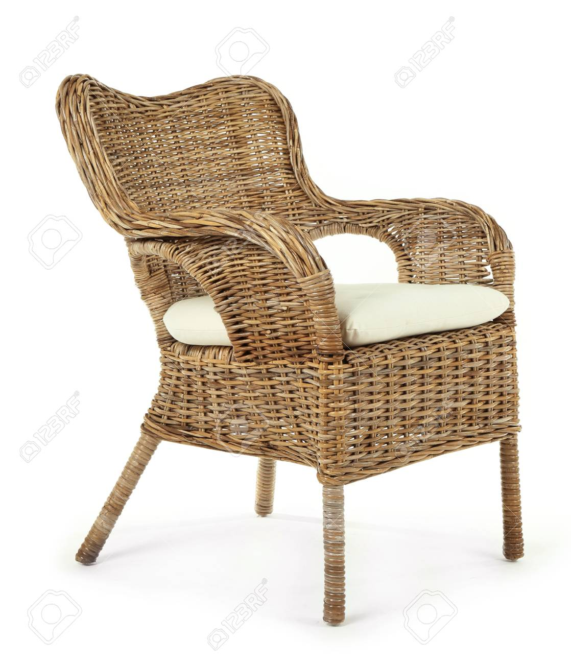comfortable wicker chairs ikea ektorp jennylund chair cover isolated on white stock photo picture and 95836646
