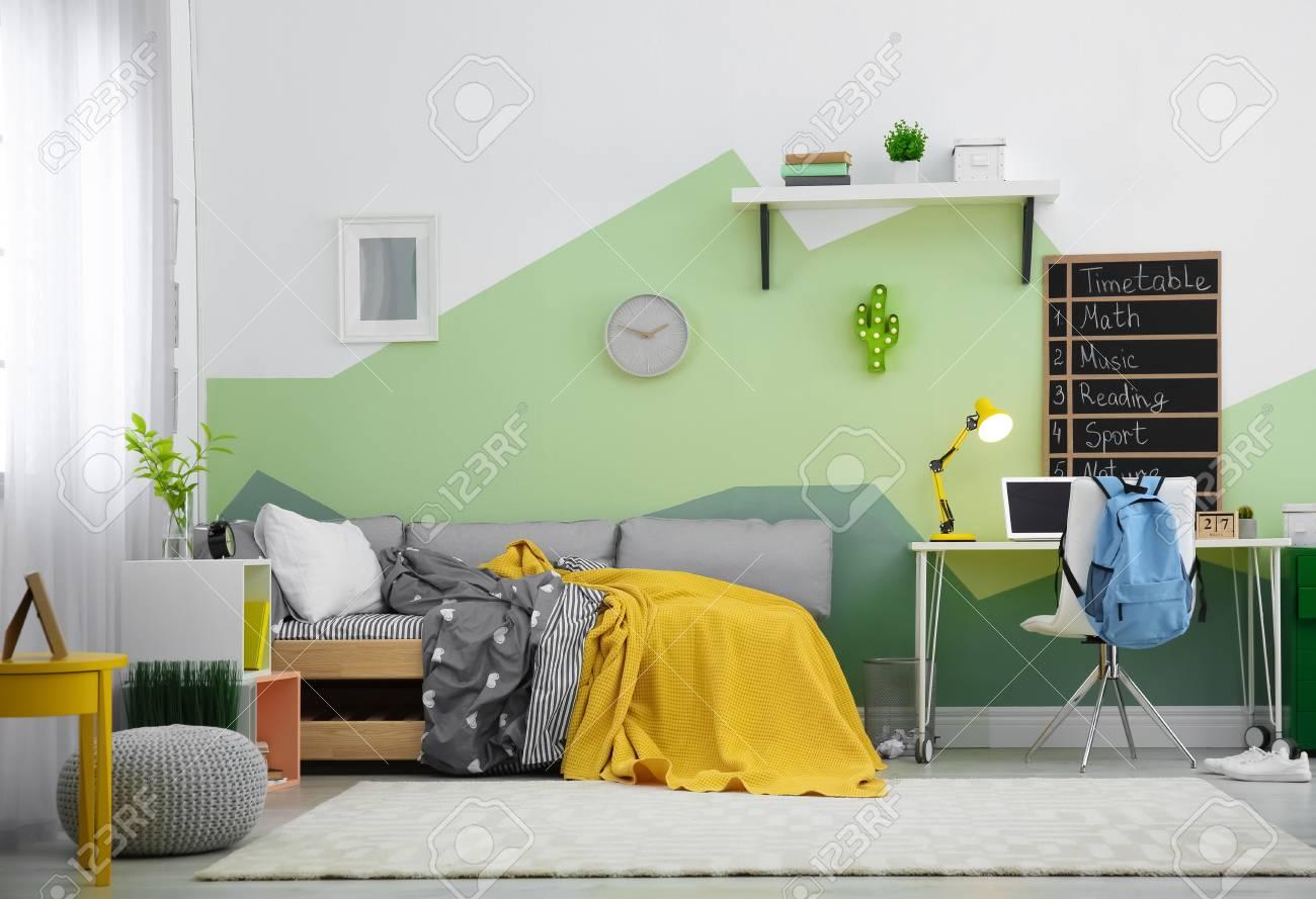 modern child room interior