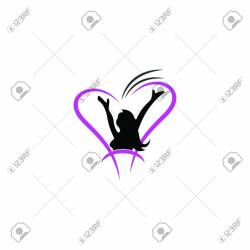 Female Fitness Logo Icon Illustration Royalty Free Cliparts Vectors And Stock Illustration Image 143397726