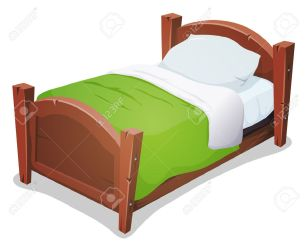 Bed Stock Vector Illustration And Royalty Free Bed Clipart