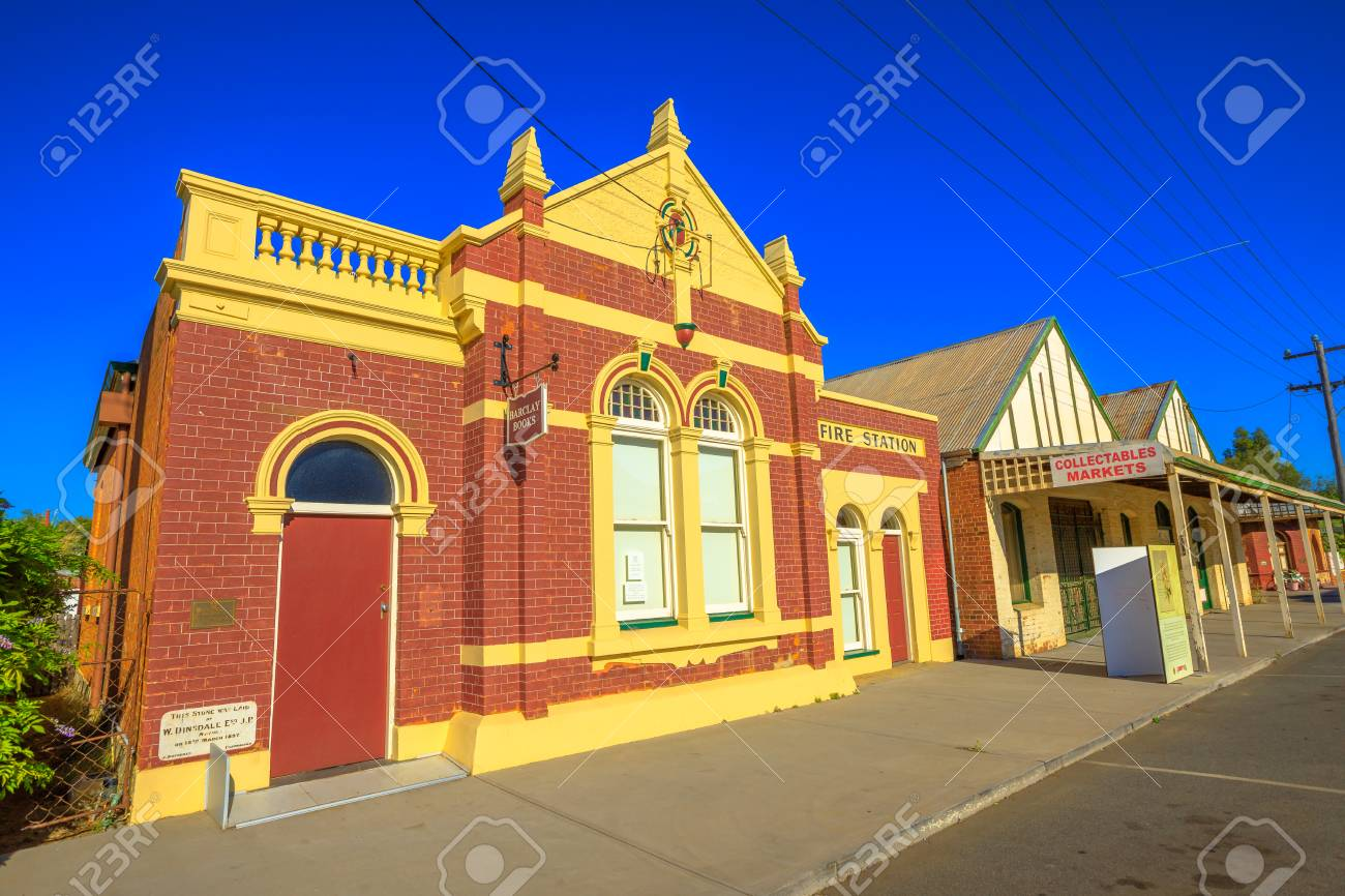 York Australia Dec 25 2017 Perspective View Of Former Fire