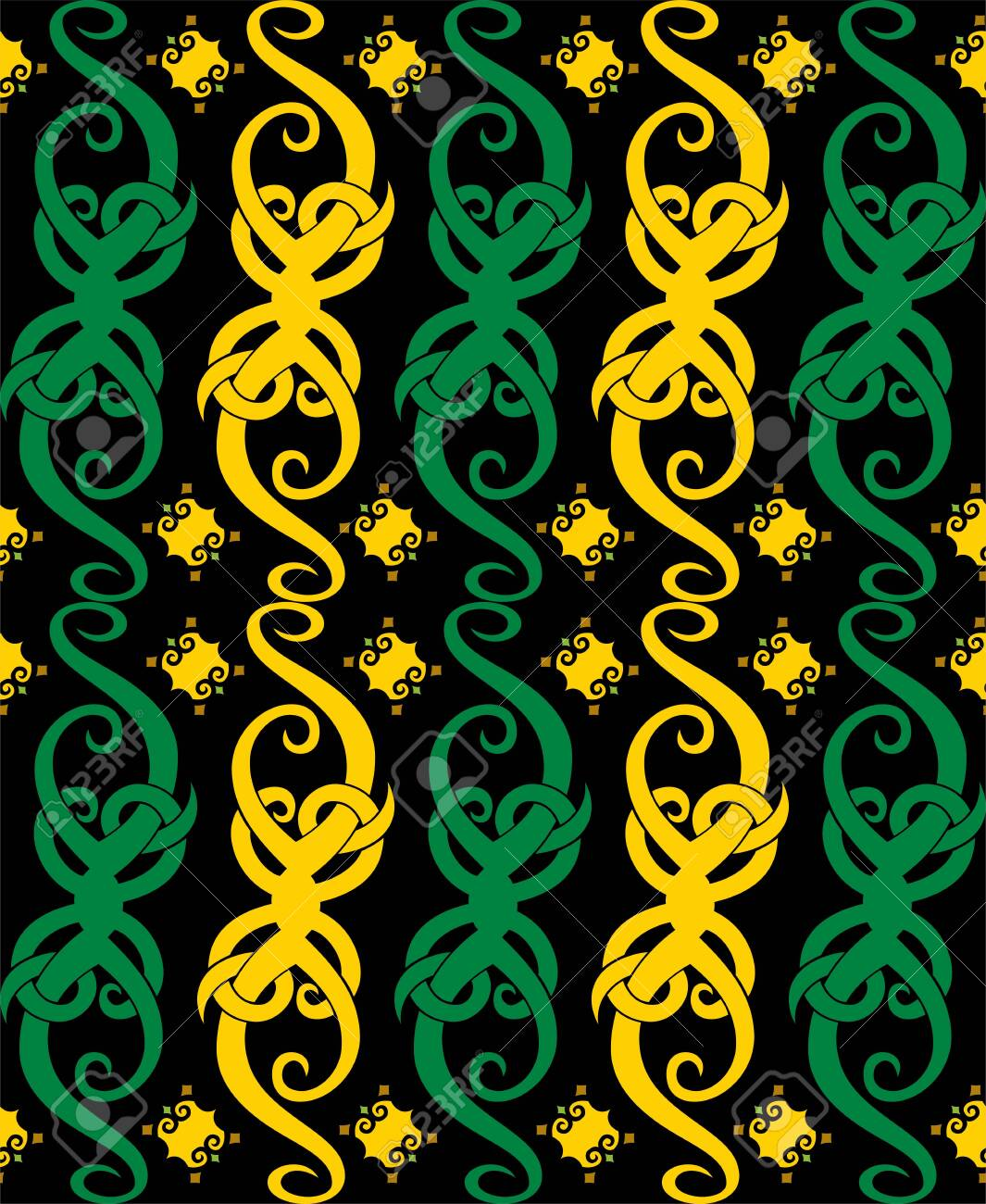 Background Motif Dayak : background, motif, dayak, Seamless, Patern, Dayak, Ethnic, Pattern.traditional, Indonesian.., Royalty, Cliparts,, Vectors,, Stock, Illustration., Image, 128049525.