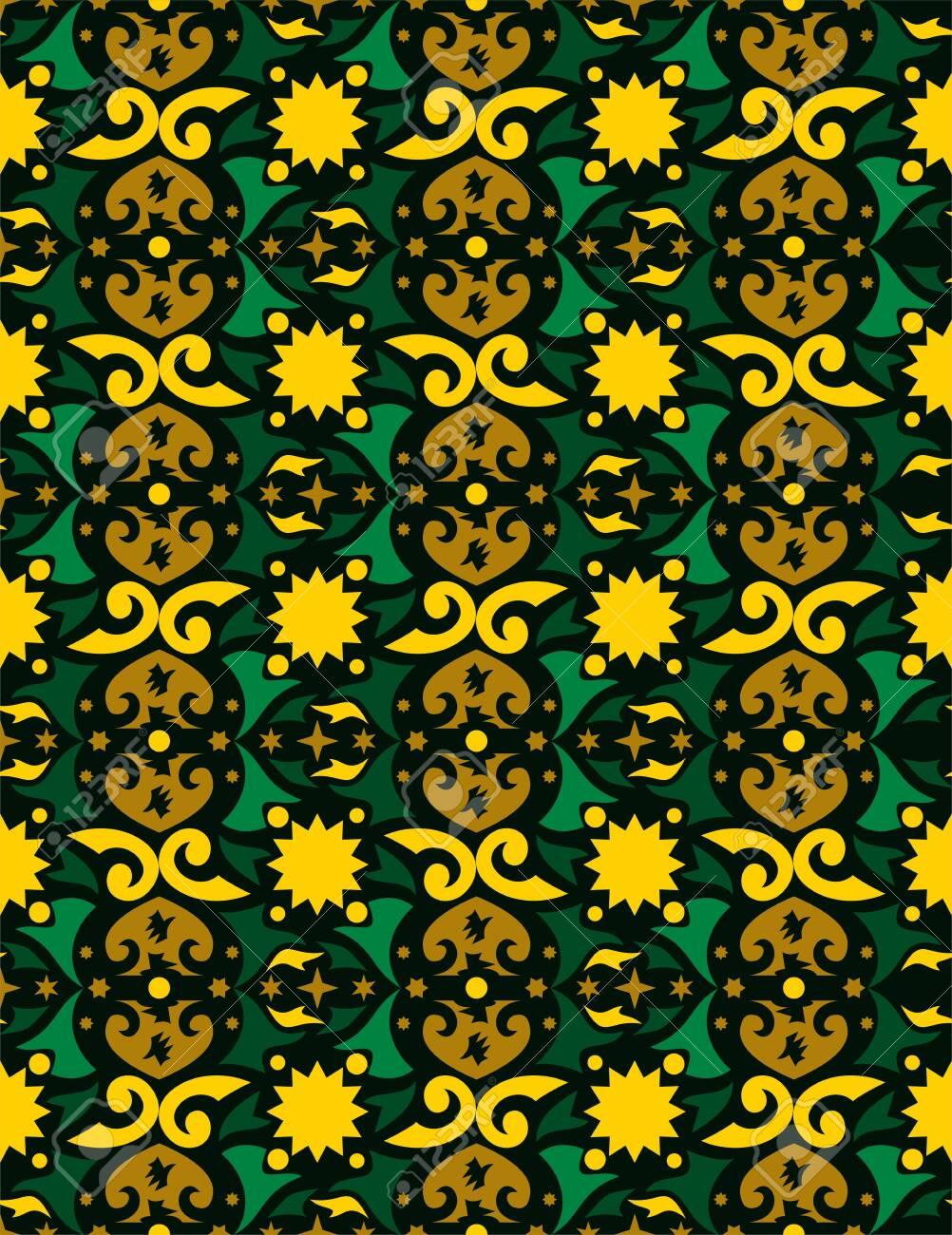 Background Motif Dayak : background, motif, dayak, Seamless, Pattern, Borneo, Batik, Style., Traditional, Indonesian.., Royalty, Cliparts,, Vectors,, Stock, Illustration., Image, 130661705.