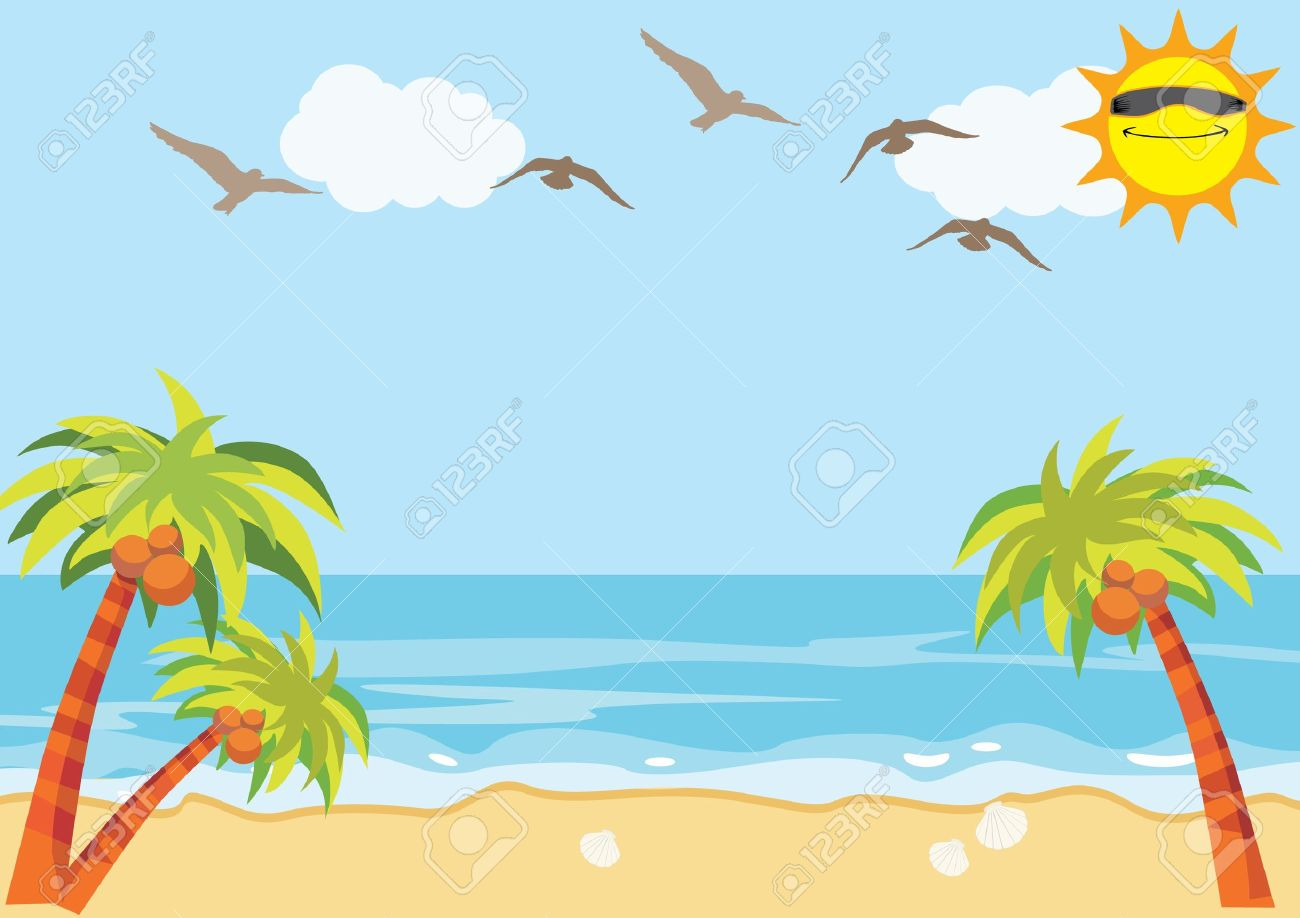 hight resolution of sea sand beach background stock vector 15938880
