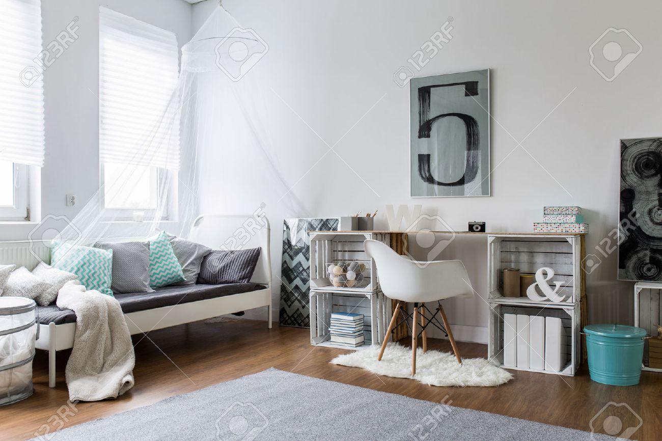 Camera Da Letto A Soppalco Diy Kids Bunk Bed Free Plans Picture