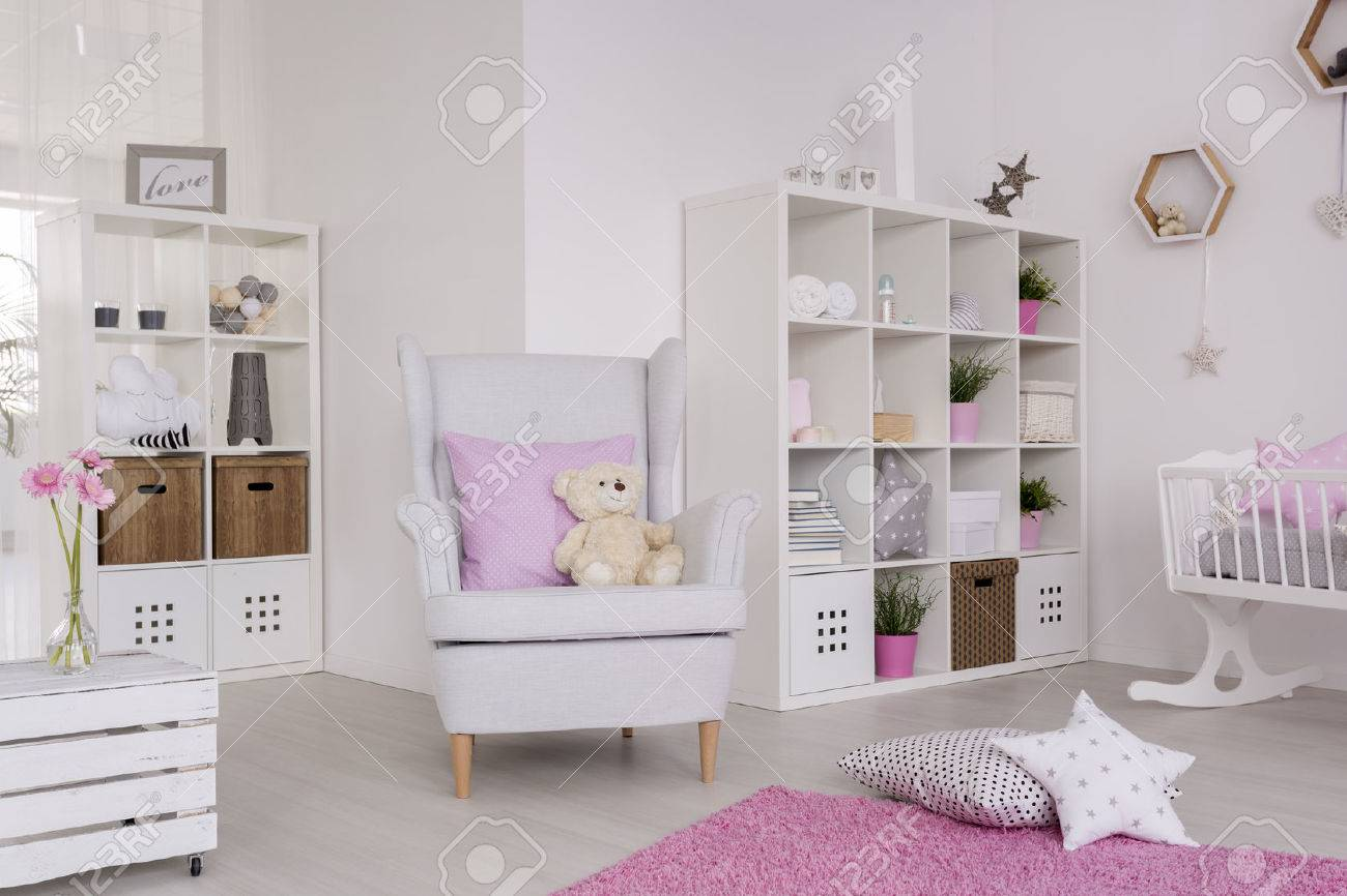 White Wing Chair White Wing Chair In A Cute Baby Room Surrounded With Baby Room
