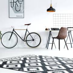 Desk Chair For Carpet Decorating A Baby Shower Black And White Studio Flat With Pattern Stock Photo 77409515