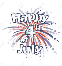 fourth of july fireworks happy 4th of july clip art with red and blue firework [ 1300 x 1206 Pixel ]