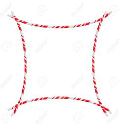candy cane frame border vector christmas design isolated on white background stock vector 112701816 [ 1300 x 1300 Pixel ]