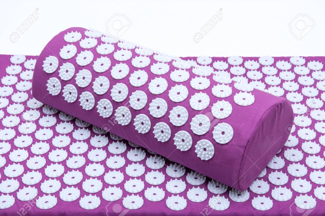 acupressure mat and pillow set for back and neck pain relief