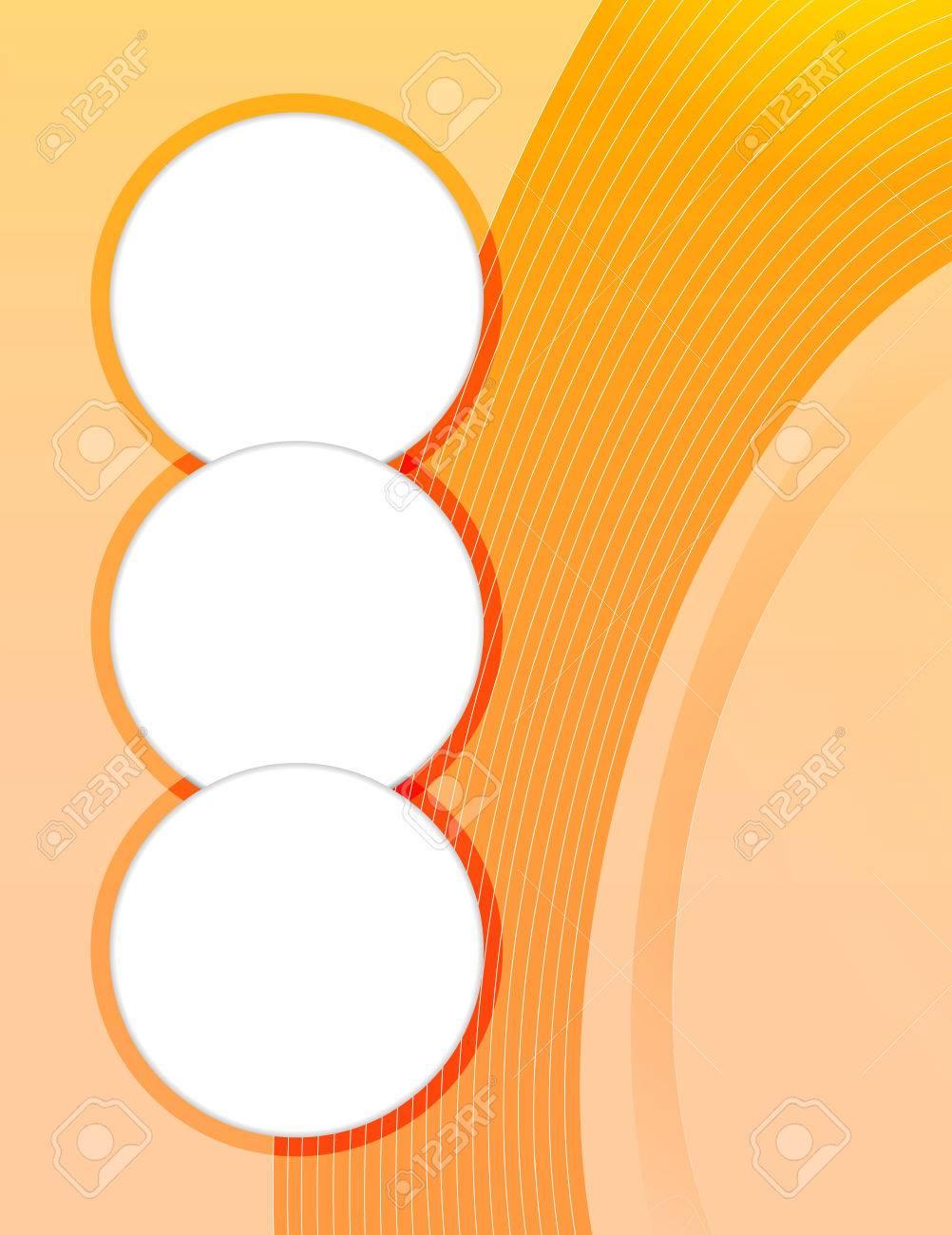 presentation of business poster flyer design content background