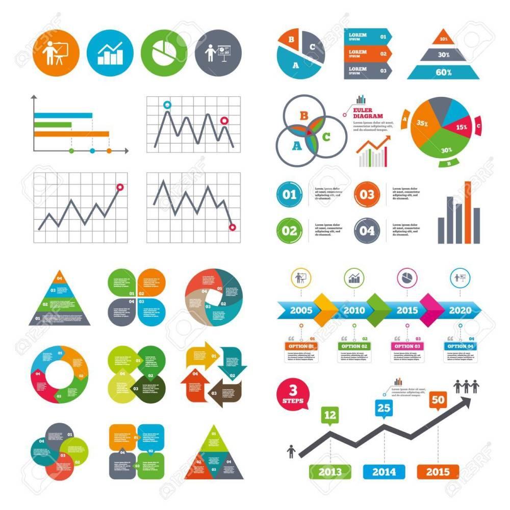 medium resolution of business data pie charts graphs diagram graph pie chart icon presentation billboard symbol