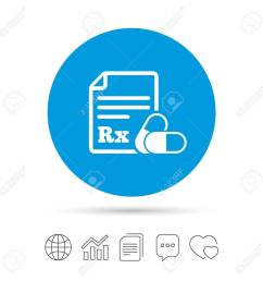 ic ne de signe rx pour prescription m dicale symbole de pharmacie ou de m dicament avec deux pilules copiez des fichiers des bulles de discours de  [ 1300 x 1300 Pixel ]