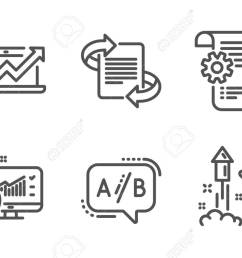 medical analytics settings blueprint and ab testing icons simple simple firework diagram [ 1300 x 863 Pixel ]