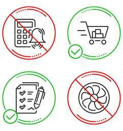 calculator alarm survey checklist and shopping cart icons simple set  [ 1300 x 1051 Pixel ]