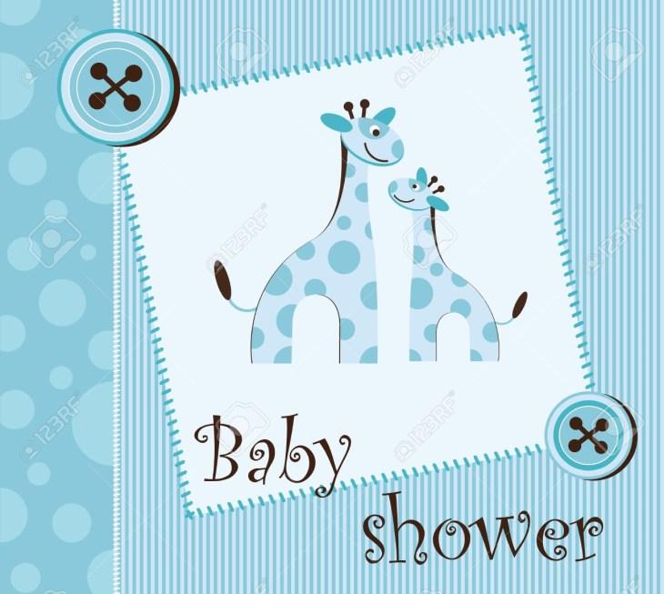 baby shower - boy Stock Vector - 12485747