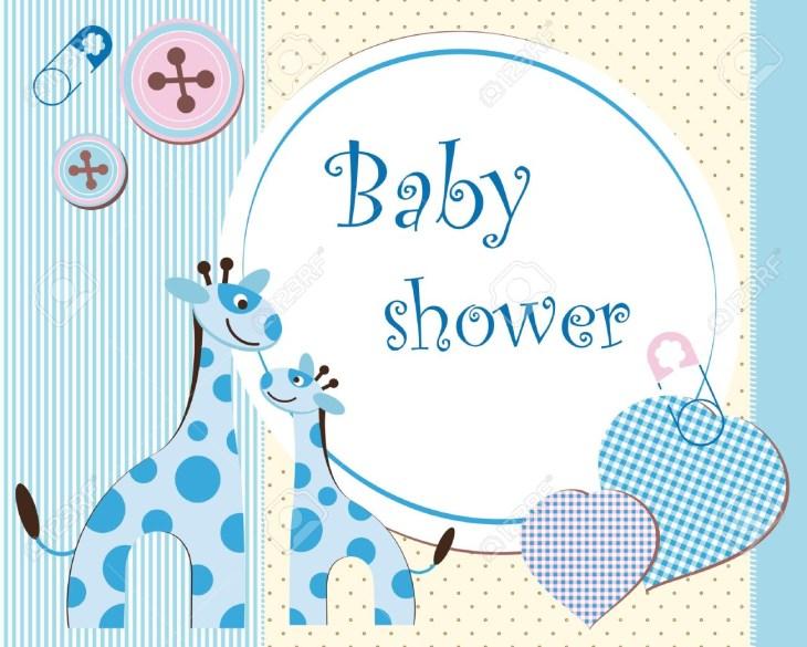 Baby shower - boy Stock Vector - 12485826